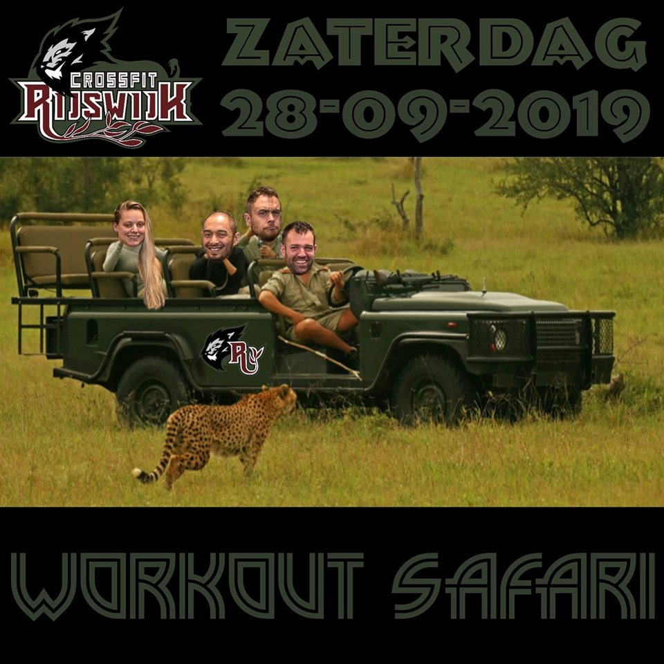 CrossFit Rijswijk - CrossFit Rijswijk Workout Safari