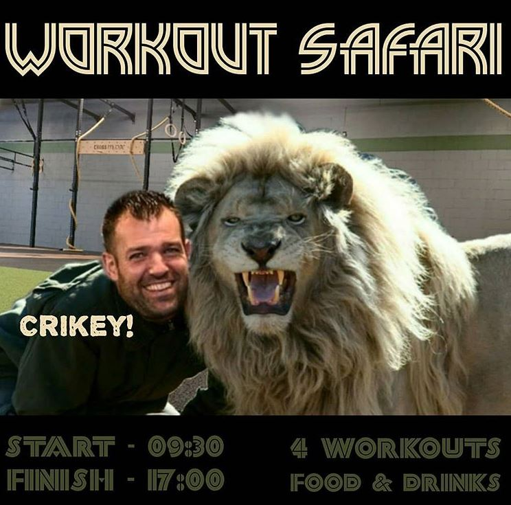 CrossFit Rijswijk - Workout Safari details
