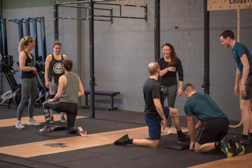 CrossFit Rijswijk Gymnastics Workshop - foto's - 9